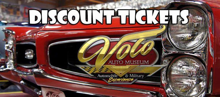 Volo Auto Museum Discount Tickets