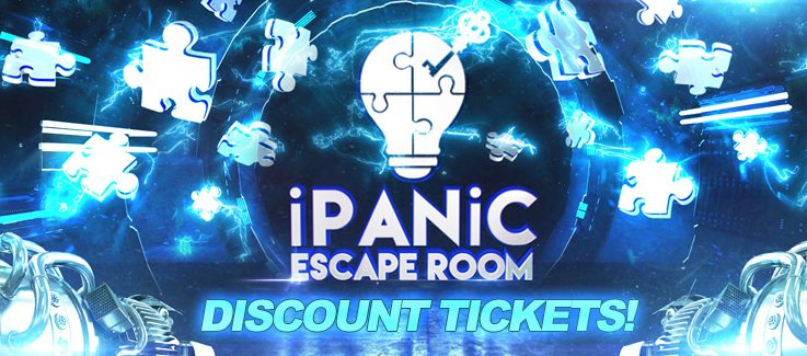 iPanic Escape Room Discount Tickets Coupon