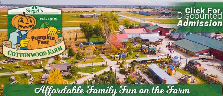 Siegel's Cottonwood Farm Pumpkin Fest Discount Tickets