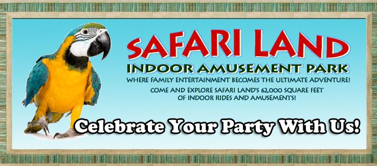 Safari Land Birthday Party Coupon