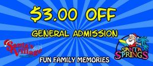 santas village discount tickets coupons